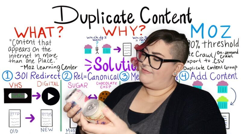 #WhiteboardFriday: How to Resolve Duplicate Content